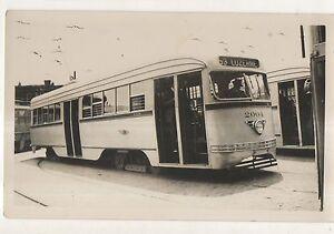 PRT-PHILADELPHIA-RAPID-TRANSIT-Streetcar-Luzerne-PA-Original-Photograph