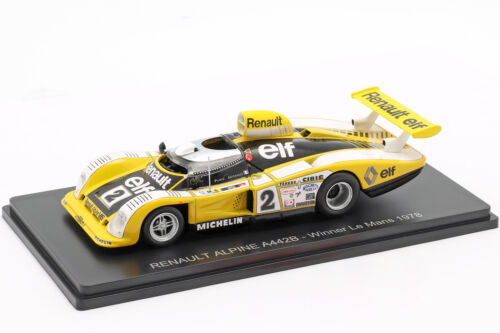 Renault Alpine A442 #2 Sieger 24h LeMans 1978 Pironi Jaussaud 1:43 Spark