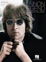 Lennon Legend The Very Best Of John Lennon Sheet Music Easy Piano Book 000138682