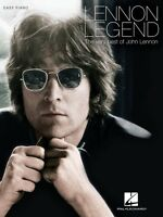 Lennon Legend The Very Best Of John Lennon Sheet Music Easy Piano Book 000138682