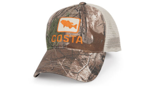 One Size Fits Most Pick Color Costa Bass Trucker Fishing Hat Free Ship