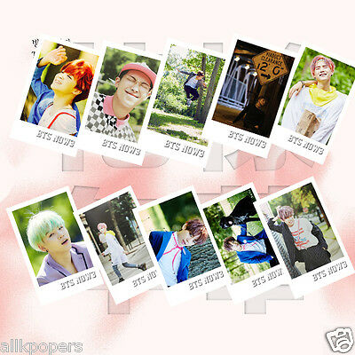 Kpop BTS 30pcs Photo Lomo Card Now3 Bangtan Boys JungKook Jimin Jin Photocards