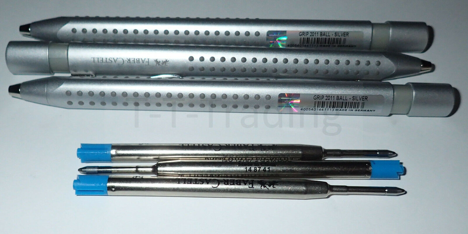 Faber Castell Kugelschreiber Kugelschreiber Kugelschreiber Grip 2011 silber, Nr. 144111 diverse Sparpakete | Sale Online  d17c90