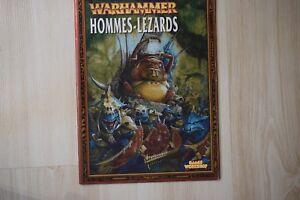 Details About Warhammer Oop Warhammer Livre Hommes Lezards Couverture Slann Bords Rouges