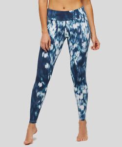 Insignia Leggings spazzolati floreali Nwt ~ X blu Me Peony bianchi tw4q1Oqn