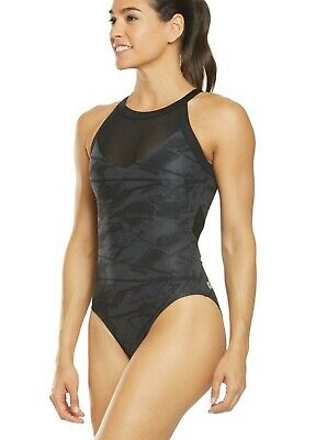NWT TYR Navy Controlfit One Piece Scoop Neck /& Back Swimsuit SIZE 14 NEW