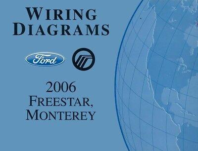 2006 Ford Freestar Mercury Monterey Wiring Diagrams ...