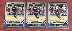 Lot of (3) 2019-20 Chronicles Playbook ZION WILLIAMSON Rookie #169 RC Pelicans🔥