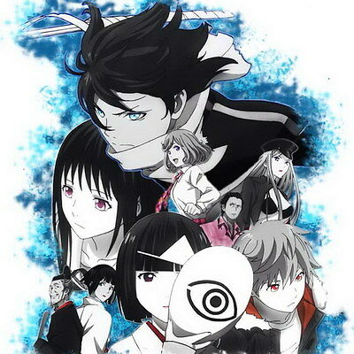 "002 Noragami - lit. Stray God Japanese Anime 14""x14"" Poster"