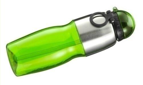 Trinkflasche Sports Fahrrad Watter Bottle aus Kunststoff Edelstal Griff Anhänger