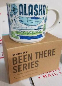 New NIB Starbucks ALASKA 14oz Been There Series Coffee Mug