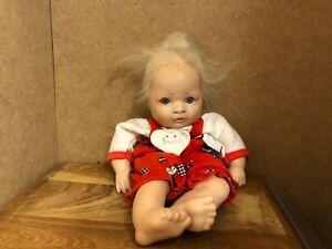 Mes-38043 Sammler-künstlerpuppe Ohne Herstellerangabe L:ca.20cm, Dolls Art Dolls-ooak
