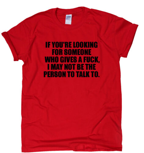 Not The Person To Talk To funny T-shirts awesome rude mens womens sarcastic top