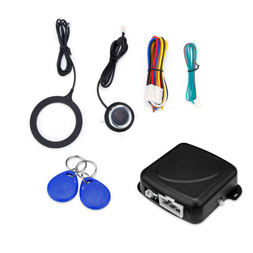 Car Auto Anti-Theft System One Key Control RFID Engine Lock Contactless ID Card
