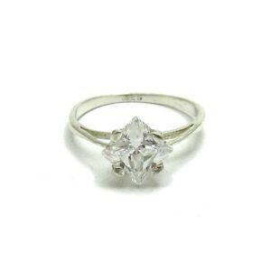 Sterling-Silber-Verlobungsring-925-mit-7x7mm-Zirkonia-R000519