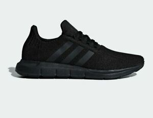 Adidas-Men-039-s-Swift-Run-US-10-5-M-Black-Mesh-amp-Synthetic-Sneakers-Shoes-85