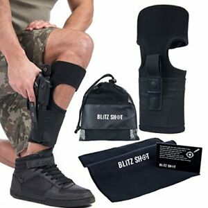 Details about Concealed Carry Leg Ankle Holster for Glock S&W & Ruger LCP  w/ Secure Fit Strap