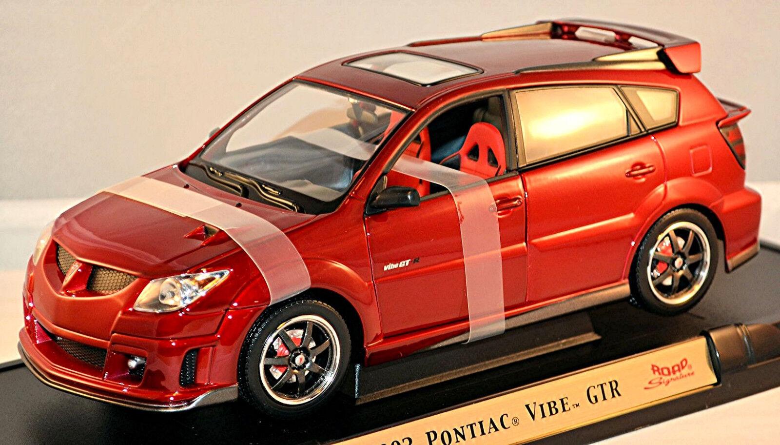Pontiac Vibe GTR 2003 red red Metálico 1 18 Yat Ming