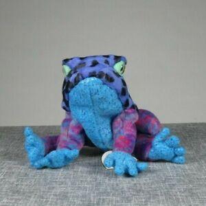 Dart Poison Frog Ty Beanie Baby 2001