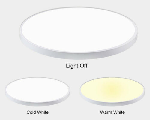 12W-96W LED Deckenleuchte Dimmbar Deckenlampe Badleuchte Küche Wohnzimmer IP44