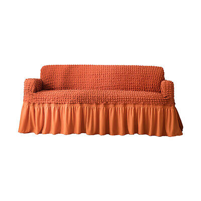 NEW Sofa Cover Couch Slipcover High Elasticity Furniture Protector Case  Orange | eBay