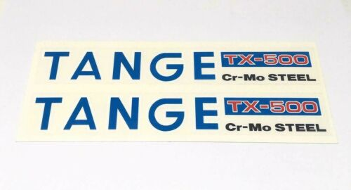 "**OLD SCHOOL BMX /""TANGE/"" TX-500 FORK DECALS CUSTOM **"