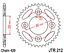 JC37 /'03-12 Chain and Sprocket Kit Heavy Duty for Honda ANF125 Innova