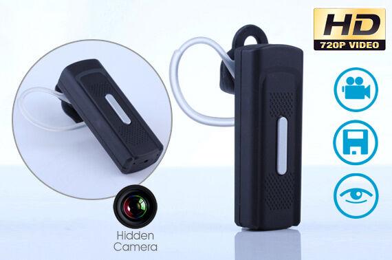 HD 1080P 720P Spy Bluetooth Wireless Mini Camera Hidden Video Camcorder DVR