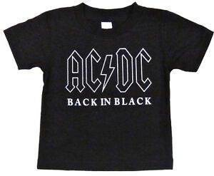 AC-DC-Baby-Infant-T-shirt-Back-In-Black-Classic-Rock-Star-Tee-6M-12M-18M-24M-New