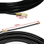 Runcci-Yun cable pull tool 10m with Guide Spring Eyelet Nylon Pull Wire KAB
