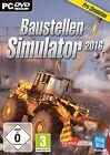 Baustellen-Simulator 2016 (PC, 2015, DVD-Box)