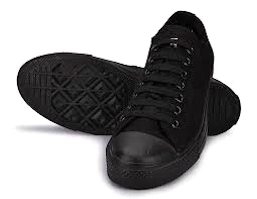 Converse Chuck Taylor Ox bajo Suéter Negro Todas las Tallas Hombre Zapatillas