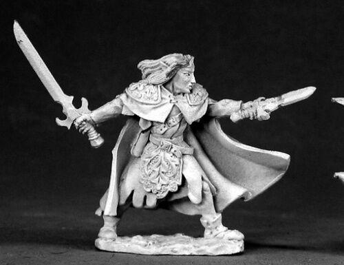 Reaper Miniatures Baeldrinahr Rogue Fighter #02952 Dark Heaven Legends Figure
