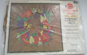 vintage-paragon-creative-crewel-stitchery-kit-festival-picture-no-0878-fruit-NOS