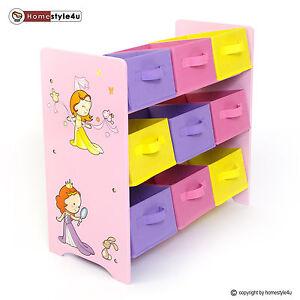 Kindermöbel regal  Kinderregal Spielzeugbox Spielzeugkiste Kindermöbel Regal Kinder ...