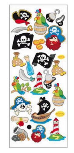 """Belle fun autocollants /""""pirates away/"""" pour cartes et artisanat"""