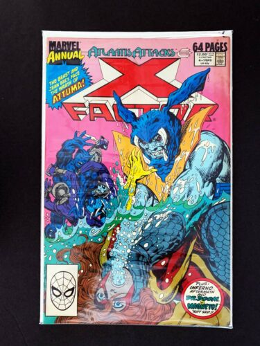 X-FACTOR ANNUAL #4 MARVEL COMICS 1988 VF