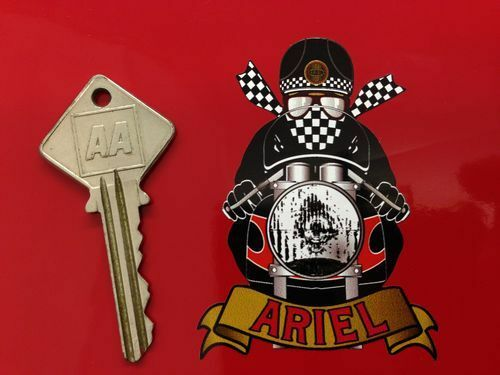 ARIEL ARROW CAFE RACER MOTORCYCLE AUTOCOLLANT STICKER