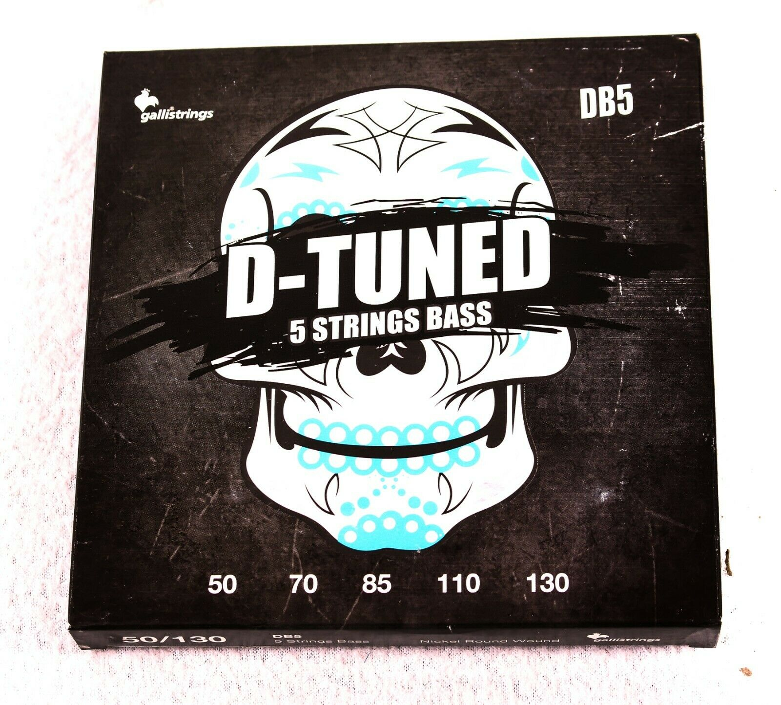 3-PACK, Gallistrings Db5 D-Tuned 5 String Bass, NEW