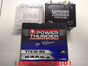 Bateria-YTX12-BS-12v-10Ah-Power-Thunder-BTX12-BS-PTX12-BS-Envio-24h