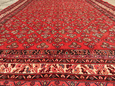9x12 HAND KNOTTED WOVEN PERSIAN AREA RUG IRAN MADE WOOL WOVEN 9x12 antique 13 8