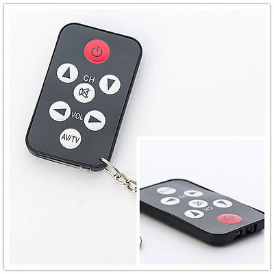 Hot Keychain Mini Universal Infrared IR TV Set Remote Control Key Ring