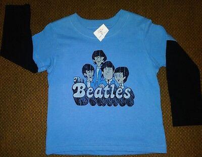 THE BEATLES ROCK BAND JOHN PAUL GEORGE RINGO BABY BOY GIRL TEE T-SHIRT 12M-24M