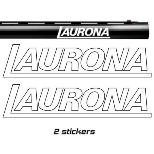 3 sizes 2x  LAURONA Vinyl Decal Sticker 10 colours