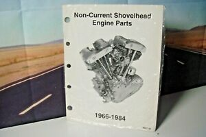 Harley Davidson 1966-1984 Non-Current Shovelhead Engine