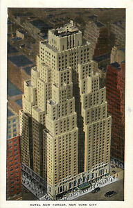 Postcard-Hotel-New-Yorker-New-York-City-NY