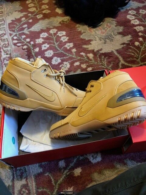 Nike Air Zoom Generation AS QS All Star Lebron, deadstock, Size 10.5 Wheat