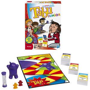 HASBRO-Tabu-Junior-Gesellschaftsspiel-Mehrfarbig