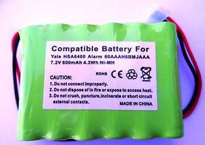 yale hsa6400 control panel compatible alarm battery. Black Bedroom Furniture Sets. Home Design Ideas