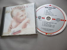 VAN HALEN : 1984 CD ALBUM WARNER TARGET MADE IN WEST GERMANY 9 23985-2 INC. JUMP